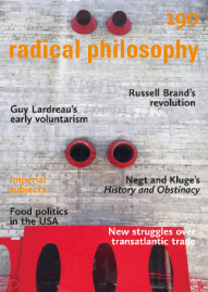 Radical Philosophy 189