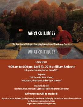 Flyer-What Critique (image)